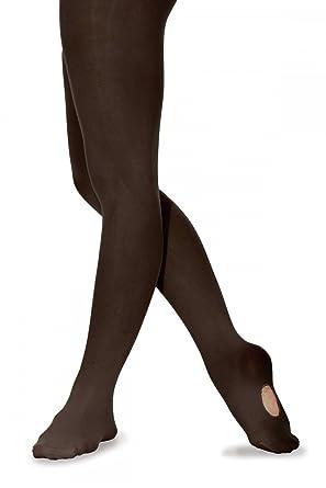 9669642bac59e Convertible Ballet dance tights Black: Amazon.co.uk: Clothing