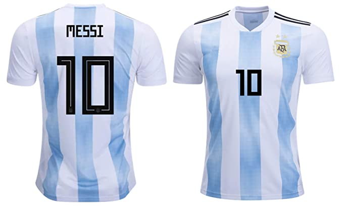 Amazon.com: Lionel Messi #10 Argentina - Camiseta de fútbol ...