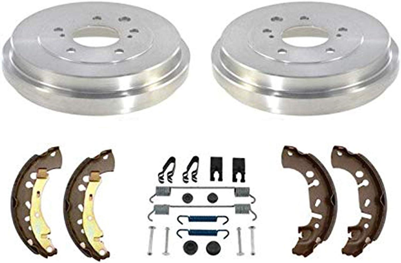 Centric Brake Drum Rear New for Nissan Sentra 2013-2018 123.42032
