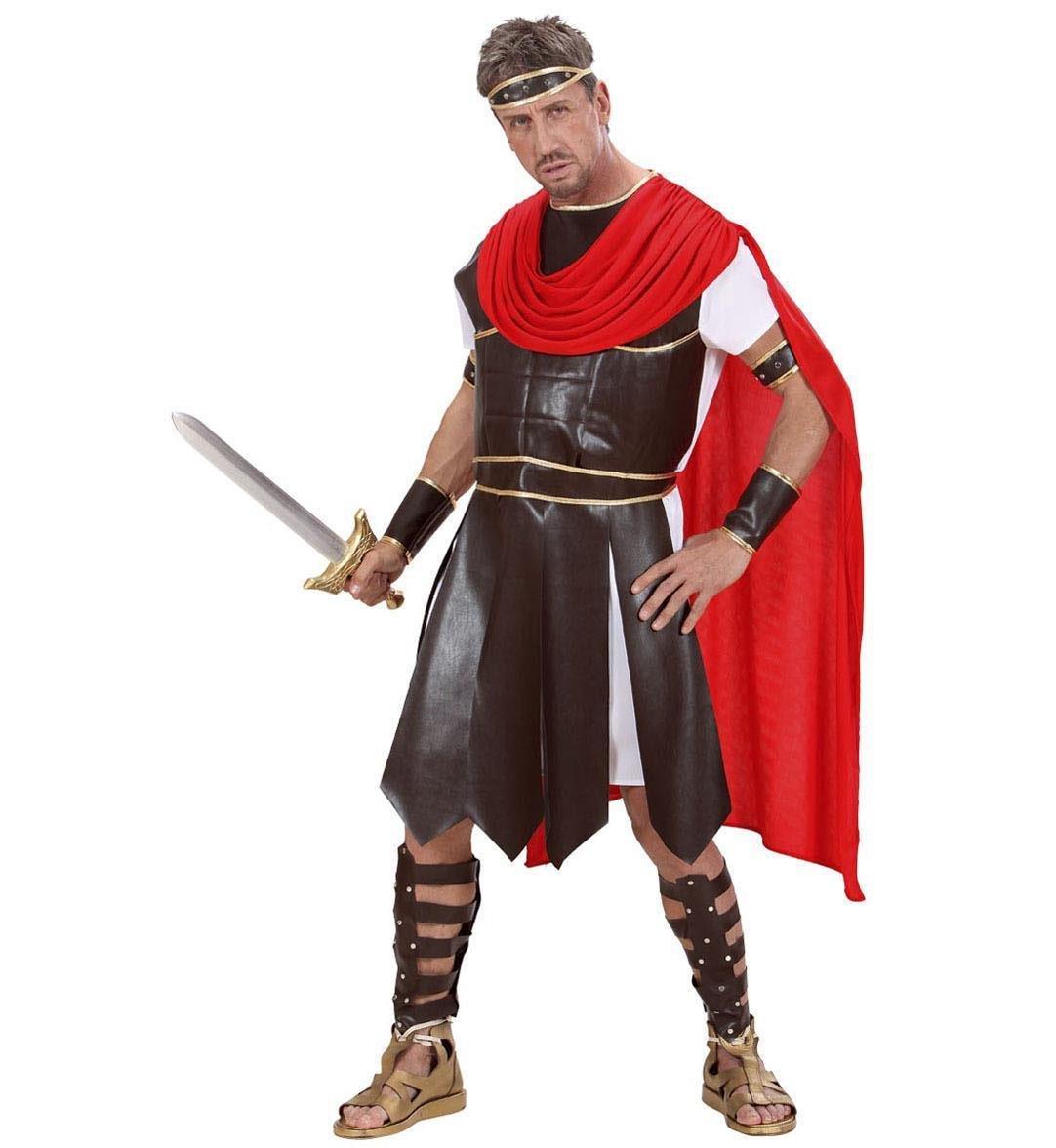 WIDMANN Widman - Disfraz de gladiador romano adultos, talla M=50-52