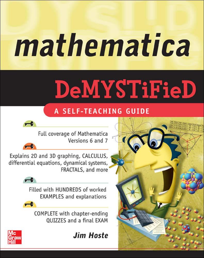 Mathematica DeMYSTiFied: Amazon.es: Hoste, Jim: Libros en idiomas extranjeros