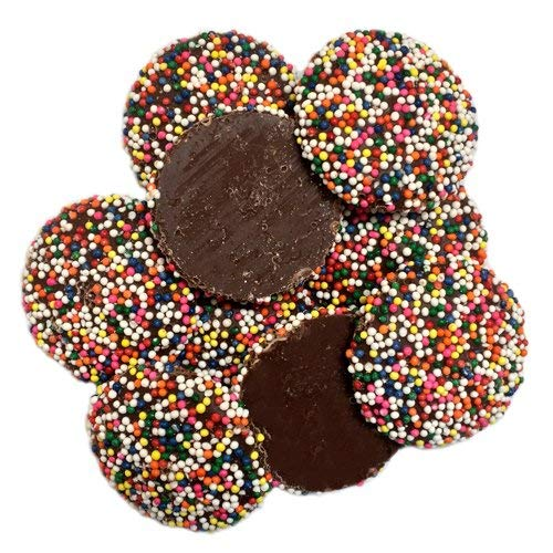 - Milk Chocolate Non-Pareils, Rainbow by Guittard 16 oz