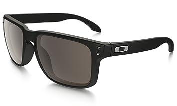 5d21e98f13 Oakley Holbrook de rayos UV negro mate - cálido gafas de sol lentes grises  910201 **CON DISEÑO DE LIVERPOOL CLUB £107**: Amazon.es: Deportes y aire  libre