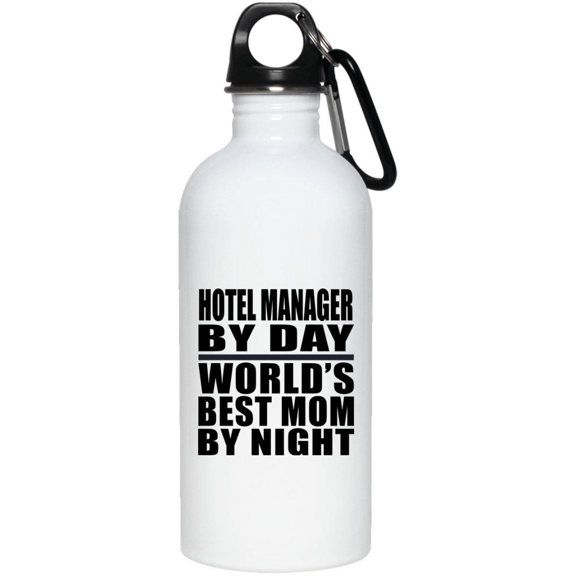 Designsify Botella de Agua mamá de día por día con Aislamiento de Acero Inoxidable, Madre, Madre, Madre, Hija, Hija, Hijo, Marido