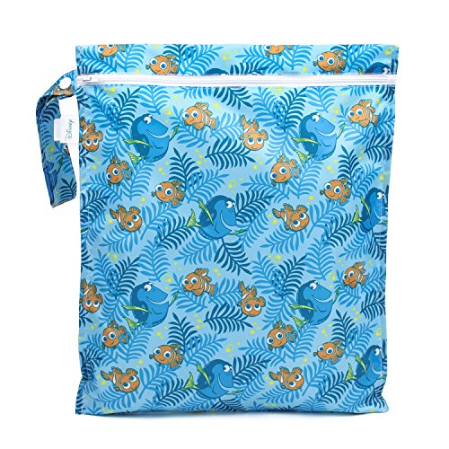 [Bumkins Disney Baby Zippered Wet Bag, Finding Dory] (Dory And Nemo Costumes)