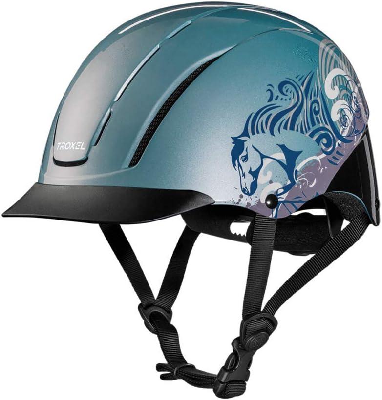 Troxel Spirit Horse Riding Western Helmet Low Profile Adjustable