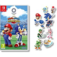 Mario and Sonic at the Olympic Games Tokyo 2020 + Sticker Sheet (Exclusive to Amazon.co.uk)