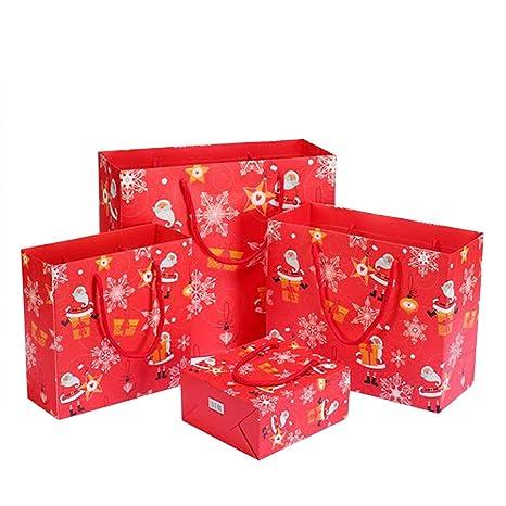 Outflower. 10Pcs Bolsa de Regalo Navidad - Bolsa de Embalaje ...