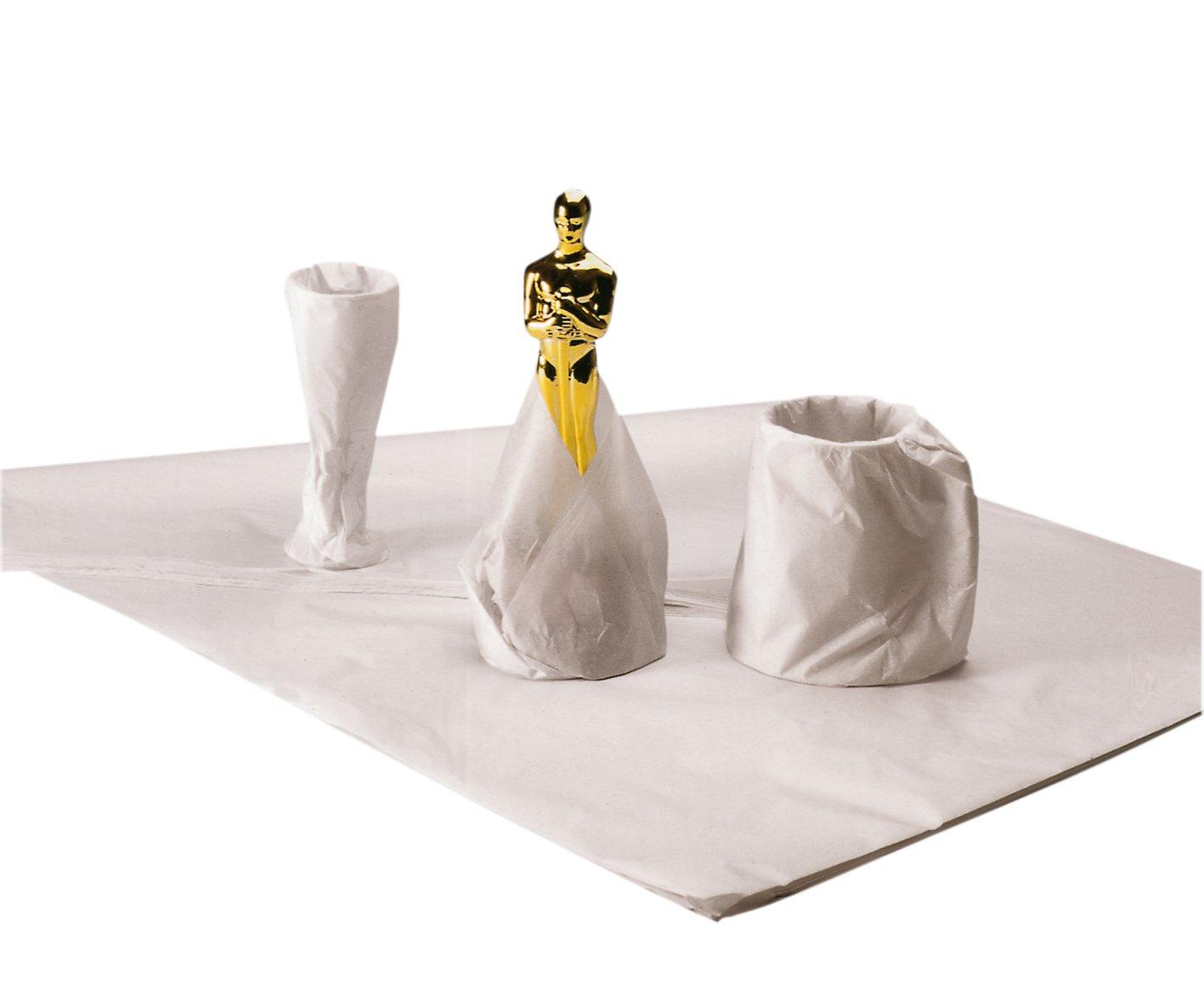 Ambasciatore senza acidi, 500x 750mm, 18g (Risma di tessuto bianco 480fogli) Ambassador AFT-0500075018