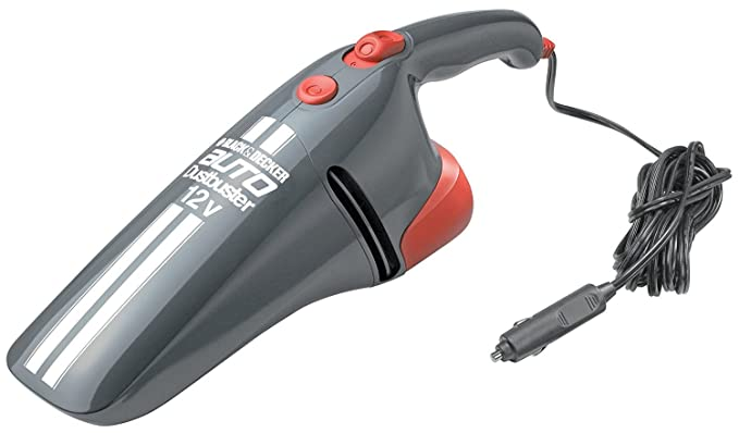 Black & Decker AV1205 Grey DC Car Vacuum Cleaner (12V)