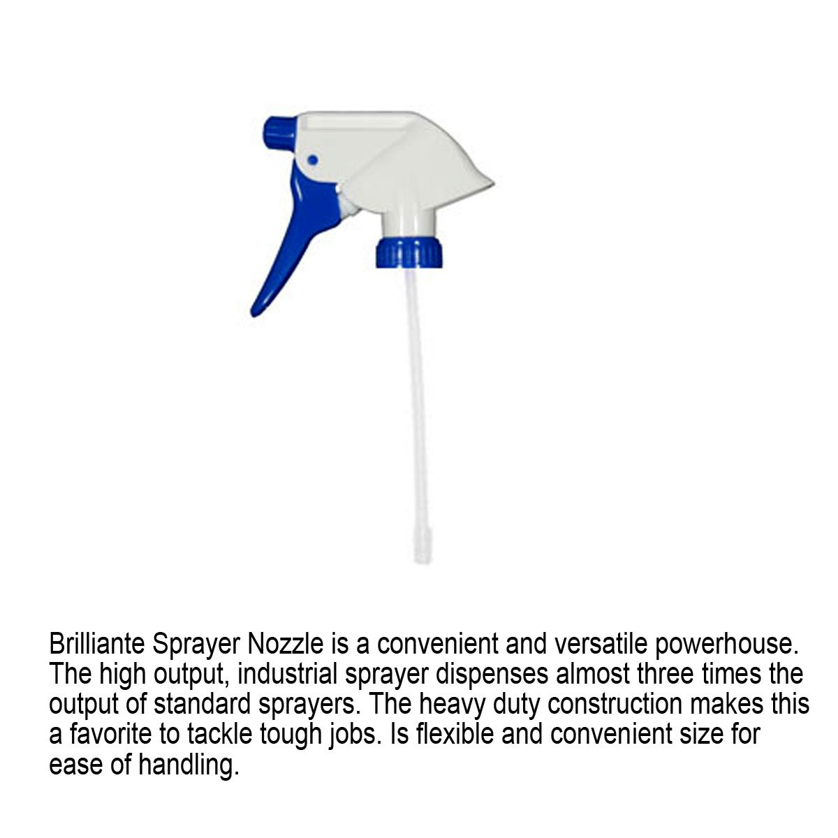 Brilliante Crystal Chandelier Cleaner - Manual Sprayer 32oz Environmentally Safe, Ammonia-Free, Drip-Dry Formula, Made in USA (2 Pack) by CrystalPlace (Image #3)