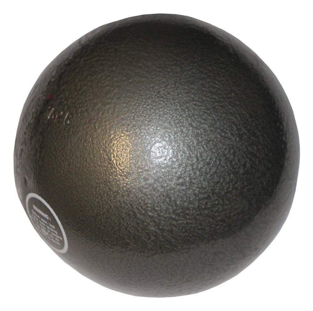 Bola de peso de hierro fundido - Entrenamiento - 7,26 kg gris oscuro