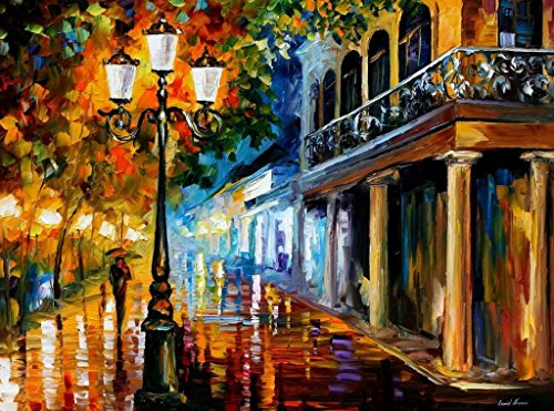 NIGHT TRANSFORMATION is an OVERSIZED, ONE-OF-A-KIND, ORIGINAL OIL PAINTING ON CANVAS by Leonid AFREMOV