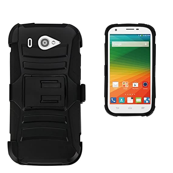 the best attitude c13b3 eacf5 Amazon.com: For ZTE Imperial 2, N9516, PimpCase Durable [Full Body ...