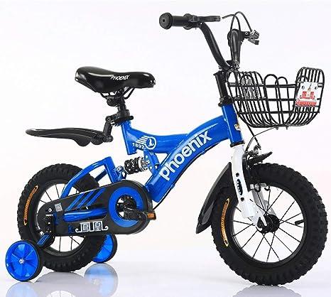 Bicicleta para niños de 12 Pulgadas, Bicicleta para niñas de 2 a ...