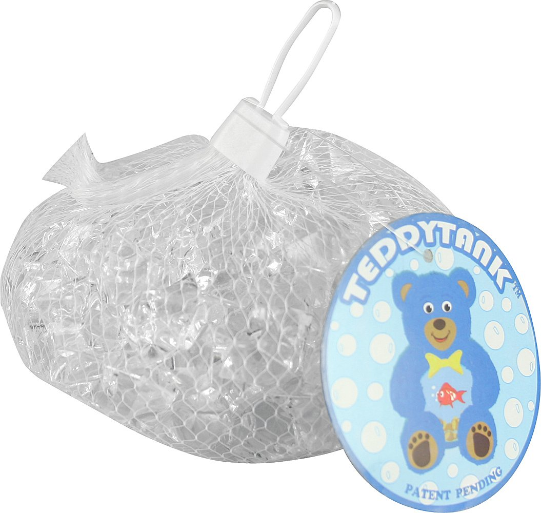 Teddy Tank Toy Accessories with Clear Acrylic Diamond Shaped Stones, 8.8-Ounce