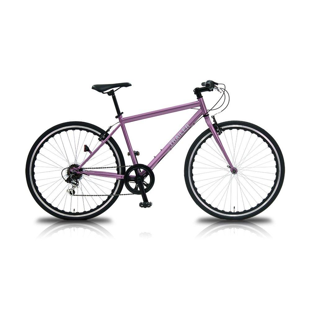 TRAILER(トレイラー) 700Cクロスバイク 6段変速 TR-C7003 B01MDP5YCK ピンク ピンク