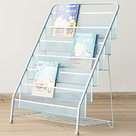 on sale a48ac d94a5 Amazon.com : WEHOLY Children Bookshelf Kids Shelves Iron ...