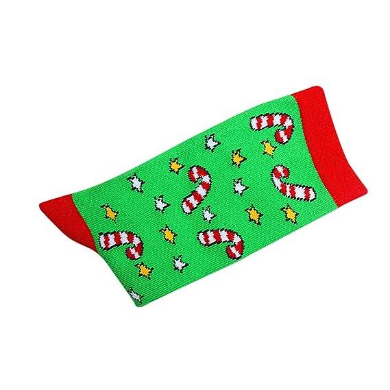 Kinlene Calcetines de invierno de las mujeres Regalo de Navidad Cálido suave algodón calcetín: Amazon.es: Ropa y accesorios