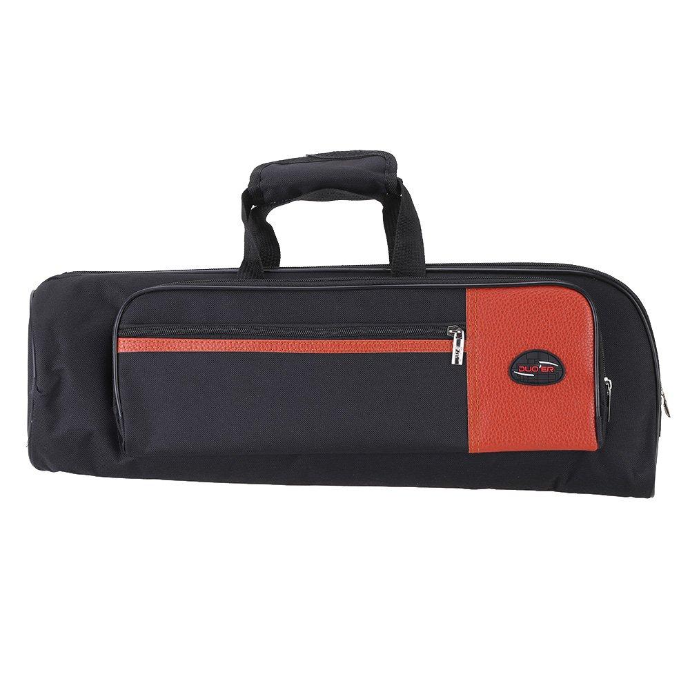 Andoer 600D Oxford Bag Case with Adjustable Shoulder Strap Pocket 15mm Thicken Padded Foam for Trumpet