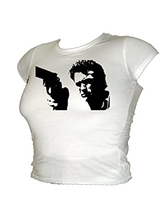 /'Do You Feel Lucky?/' T-Shirt inspired by Dirty Harry Clint Eastwood, 44 Magnum