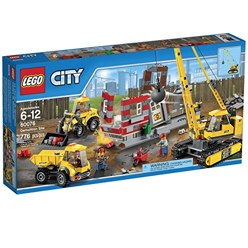LEGO City Demolition  Site (60076) (City Building Lego Crane)