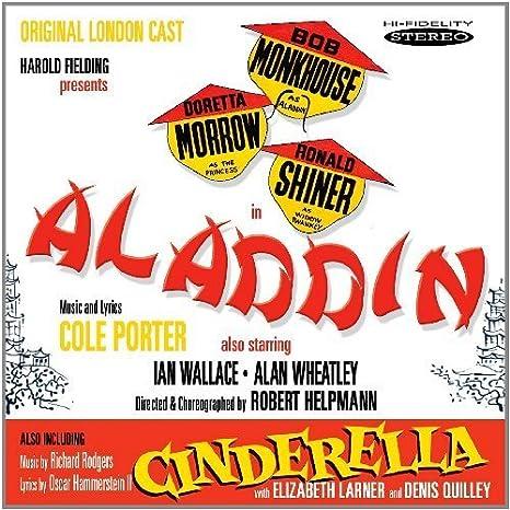 Aladdin / Cinderella Soundtrack Edition by Bob Monkhouse, Doretta ...