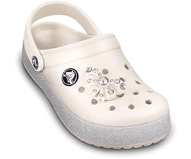 98582d527 Crocs Kids CrocBling Clog Oyster