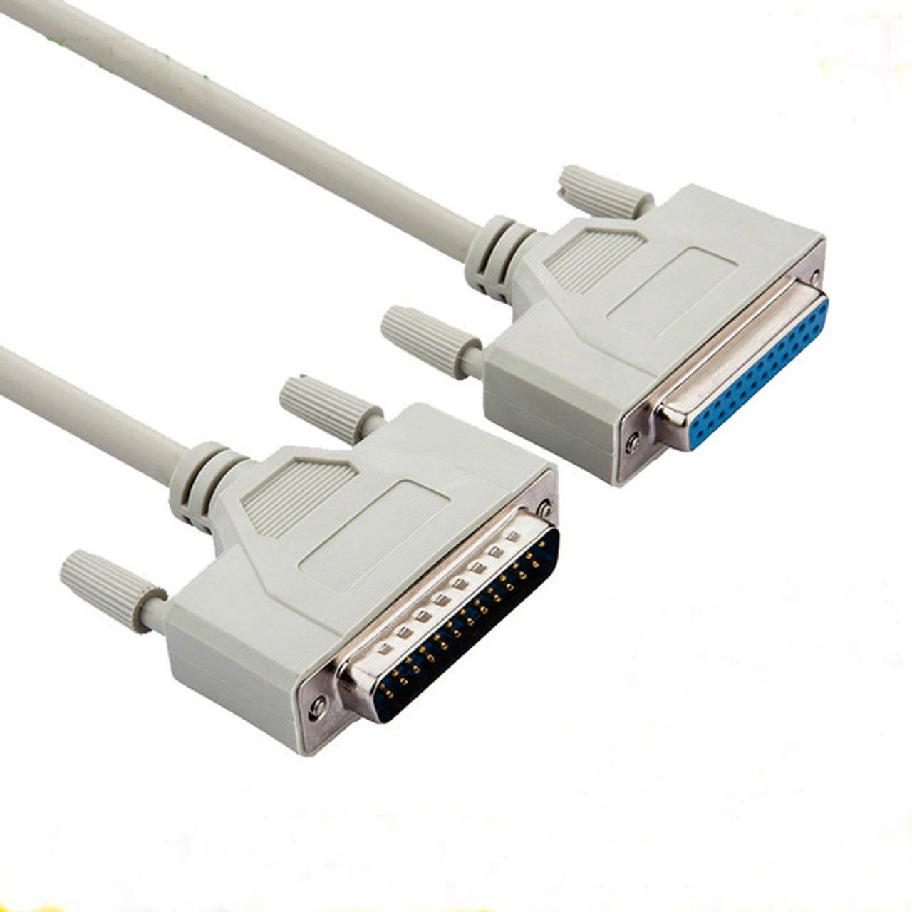 DB25 Parallel Male to Female M-F Parallel printer cable M-F LPT Printer Cable Parallel Printerextending Cable Converter Cable