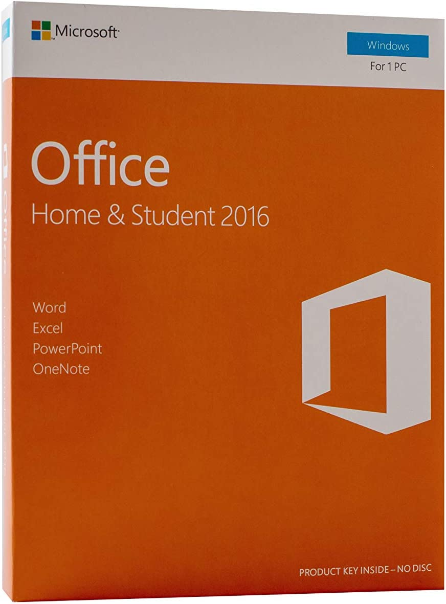 Office 2016 Home and Student | English License | for Windows