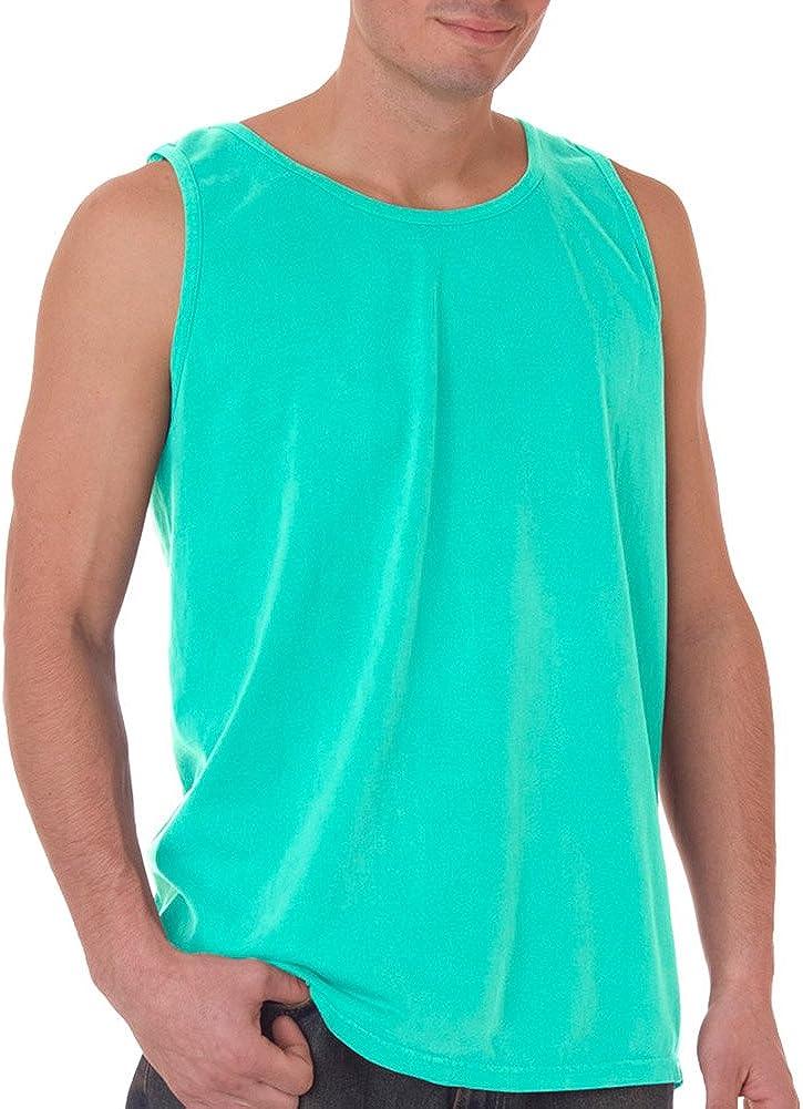 Chouinard Adult Garment-Dyed Tank Top, Chalky Mint PgmDye
