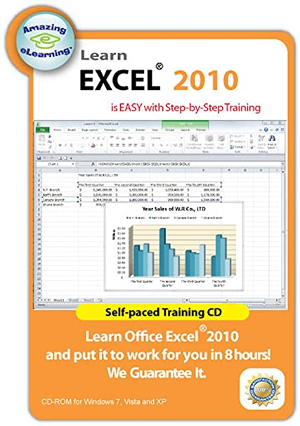 amazon com learn microsoft excel 2010 interactive training cd course