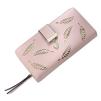 Kigurumi Cartera grande para damas Elegante cartera con monedero Ranuras multitarjeta: Amazon.es: Deportes y aire libre