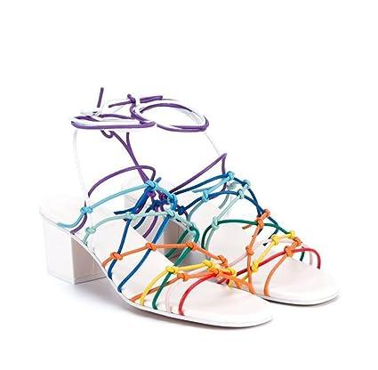 amazon kitzen women s high heels boots sandals peep toe fashion Channel Beam kitzen women s high heels boots sandals peep toe fashion thick with rainbow ankle platform shiny buckles