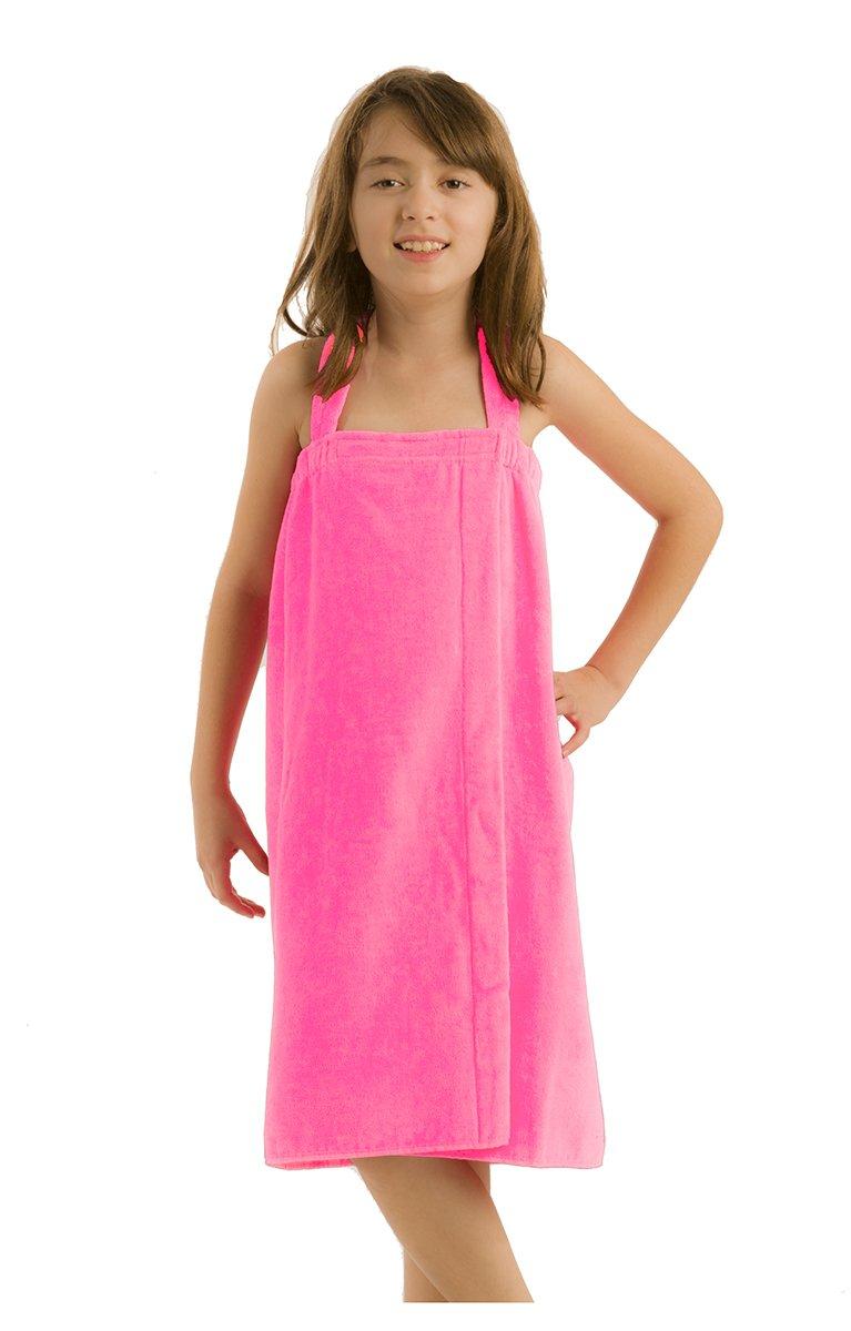 55af0dac04 Amazon.com  byLora Terry Cotton Girls wrap Towels