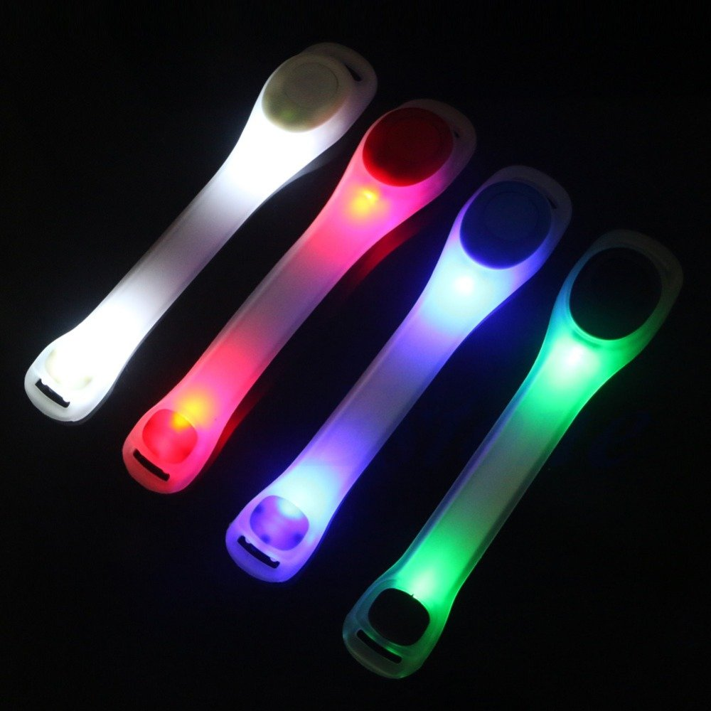 safety flashing led light up arm band hiking running bike. Black Bedroom Furniture Sets. Home Design Ideas