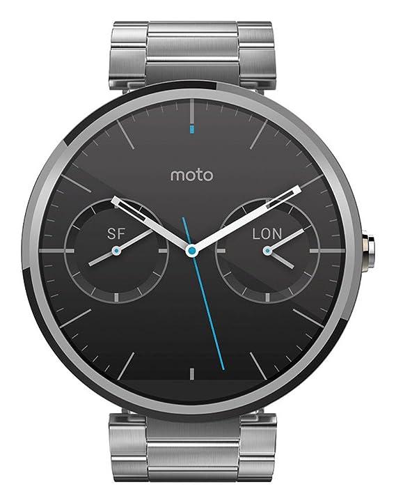 Motorola Moto 360 - Smartwatch Android (pantalla 1.56