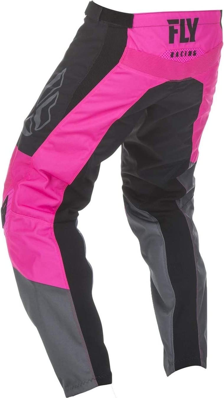 Fly Racing 2019 F-16 Youth Motocross Pants 24 Black White Grey 372-93024