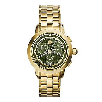 TRB1023 Tory Burch Tory Women Watch Gold IP Chronograph 37 mm
