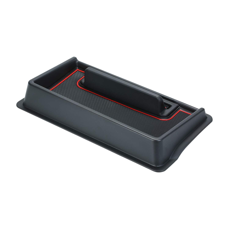 Car Anti-Slip Mat Dashboard Storage Box Center Console Organizer Mobile Navigation Holder Box for Suzuki Jimny 2019 Tickas Center Console Organizer