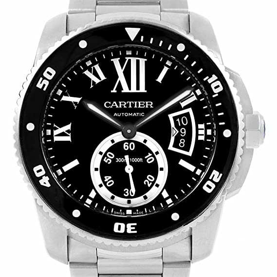 b495c5a5bea2 Cartier Calibre De Cartier Automatic-Self-Wind Mens Reloj w7100057 ...