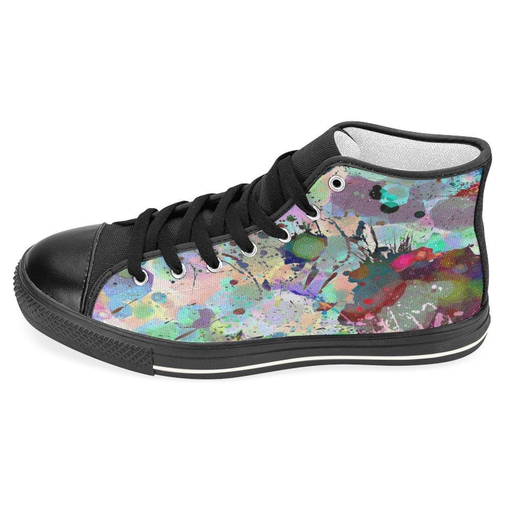 honest service InterestPrint Women Canvas Shoes Colorful