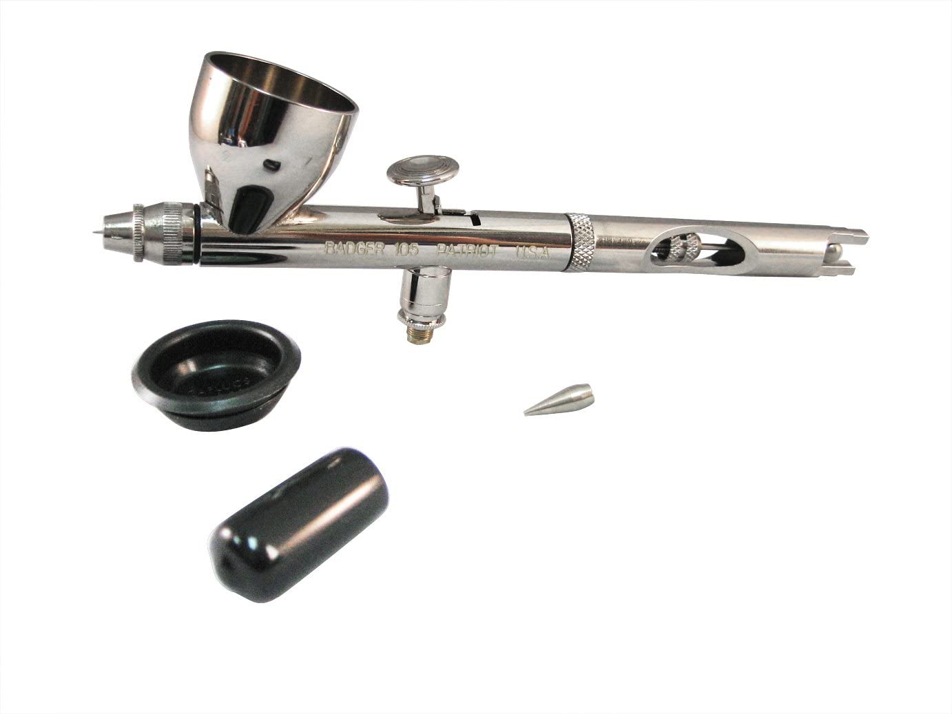 Badger Air-Brush Co. 105 Patriot Fine Gravity Airbrush: Arts, Crafts & Sewing