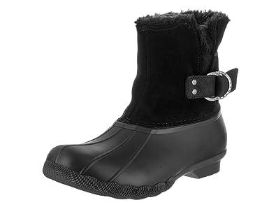 Women's Black Snow Boots US 5.5