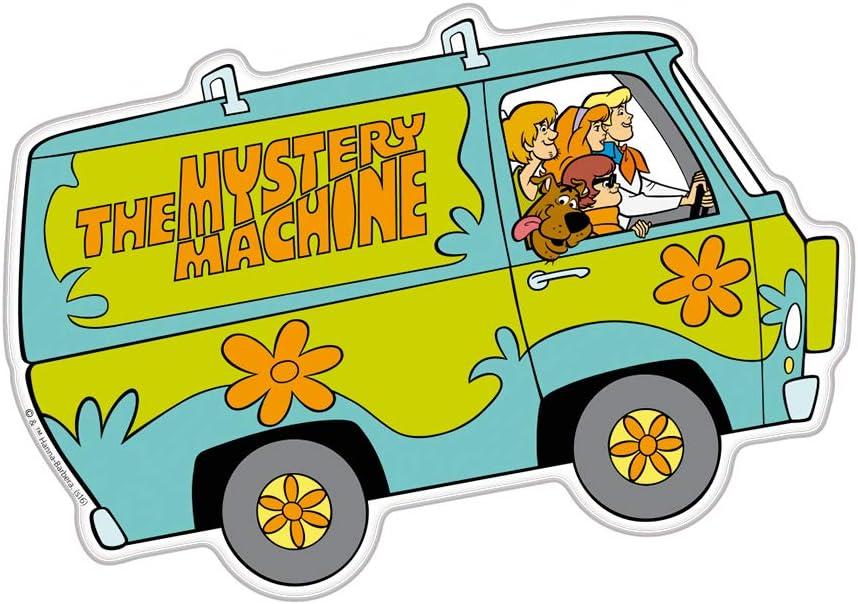 Scooby Doo Cartoon Car Bumper Sticker Decal 3x 5