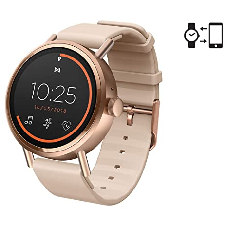 Misfit Reloj Smartwatch Digital Unisex Silicon Band MIS7104