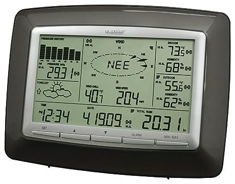 La Crosse Technology WS-2812U-IT Professional Weather Center with Solar Wind Sensor