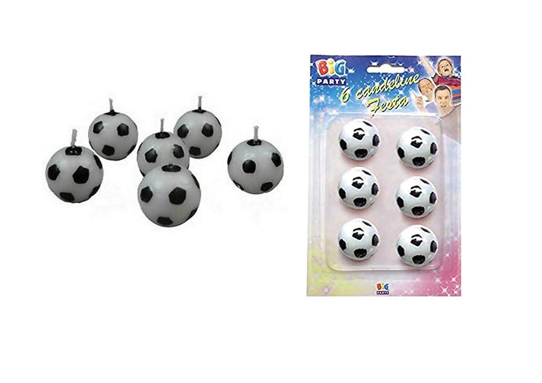 PARTY STORE WEB BY CASA DOLCE CASA 12 Velas de fútbol en Forma de ...
