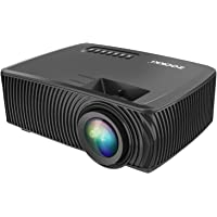 Zookki 1080P Multimedia Home Theater Mini Video Projector