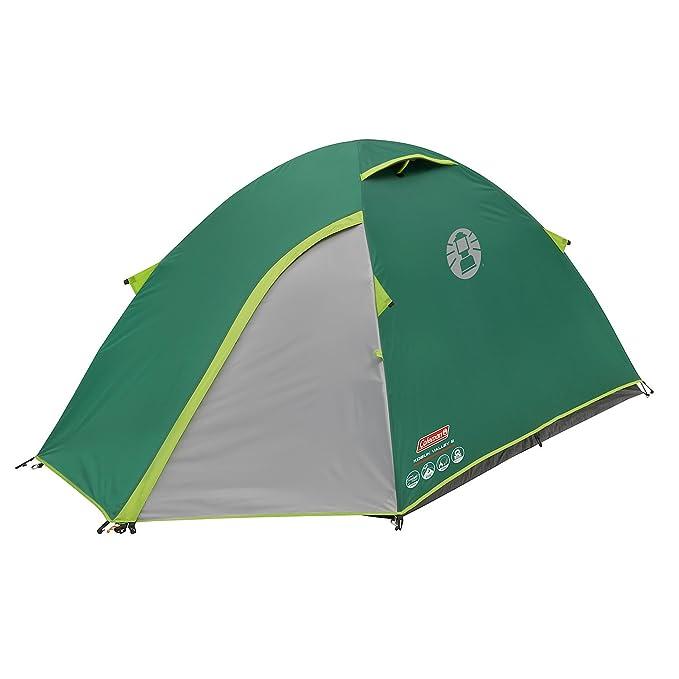 Coleman Kobuk Valley 2 – Tienda de campaña tipo iglú para 2 personas con espacio oscuro para dormir. Impermeabilidad de 4500 mm de columna de agua: ...